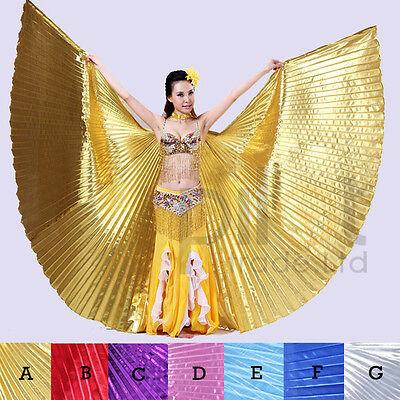 Bauchtanz  Flügel Bauchtanz Tanzen Kostüm Isis Flügel  (kein Stick)  7 Farben DE