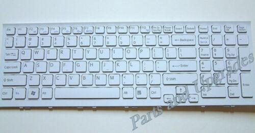 OEM Sony Vaio VPC-EB VPCEB White Keyboard 148793221 V111678B 550102M05-203-G New