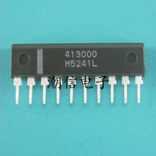 5PCS M5241L SIP-10 DUAL VCA FOR ELECTRONIC VOLUME CONTROL