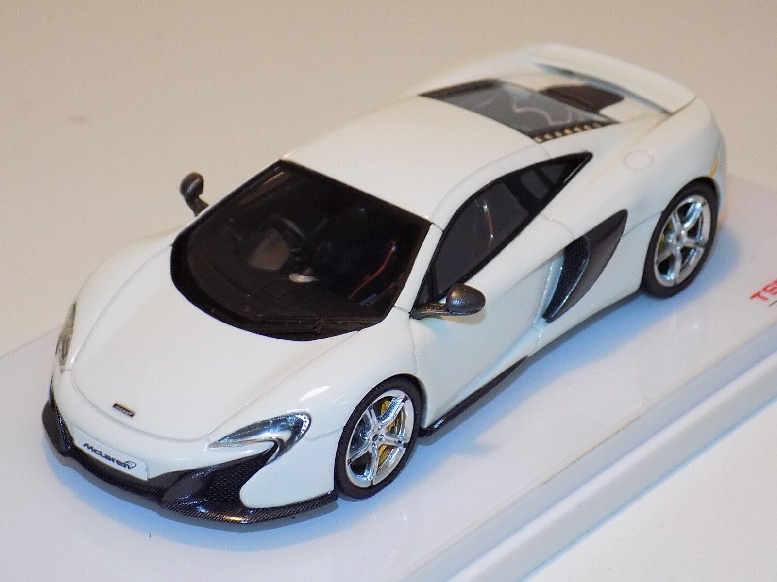 1 43 True Scale TSM McLaren 650 S Coupe in White from 2015 RHD  TSM144363