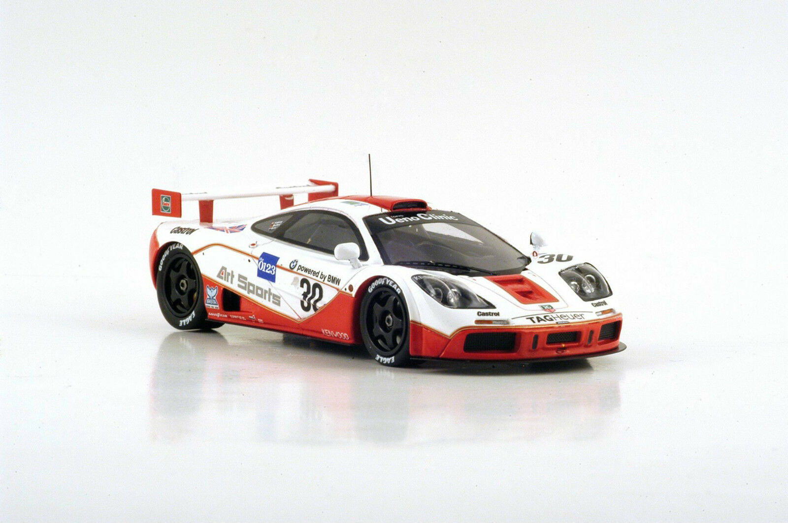 S4405 Spark 1/43:McLaren F1 GTR n.30 4th Le Mans 1996 J. Nielsen -Bscher- P. Kox