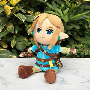 The-Legend-of-Zelda-Plush-Link-25cm-Breath-of-the-Wild-Stuffed-Toy-Cuddly-Doll