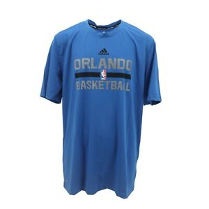 Orlando-Magic-Official-NBA-Adidas-Climalite-Kids-Youth-Size-Athletic-T-Shirt-New