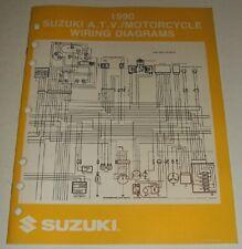 1988-1990 honda nx125 color wiring diagram | ebay  ebay