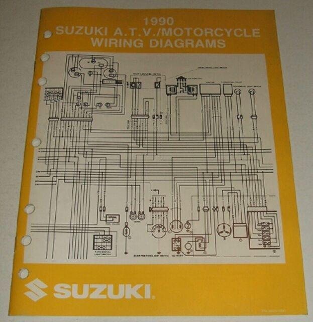 1990 Suzuki Wiring Diagram Manual Gsxr Gsx Dr Vs Gs Vs 125