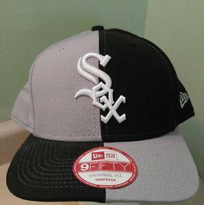 super popular cfe68 7fc23 Image is loading New-Era-MLB-CHICAGO-WHITE-SOX-Double-Split-