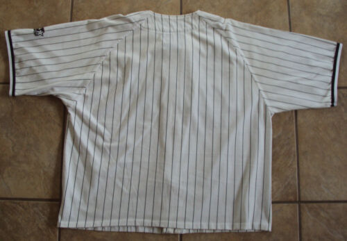 6f2081921c0 CHICAGO WHITE SOX STARTER GENUINE MLB PINSTRIPE BASEBALL JERSEY MEN XL FREE  SHIP hot sale 2017