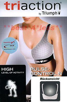 "Triumph Sport-BH /""Pulsecontrol N/"" Gr 80 D weiß 1 Wahl Triaction-Serie bügellos"