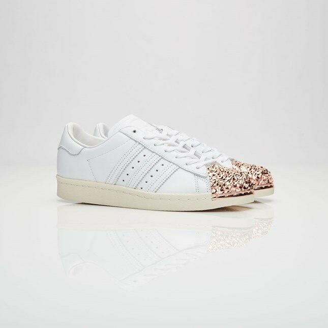 Adidas Adidas Adidas Superstar 80s 3D MT BB2034 White Women Size US 7.5 NEW 100% Authentic 3ae42e