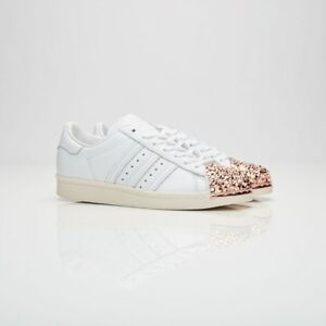 Details about Adidas Superstar 80s 3D MT BB2034 White Women Size US 6.5 NEW 100% Authentic