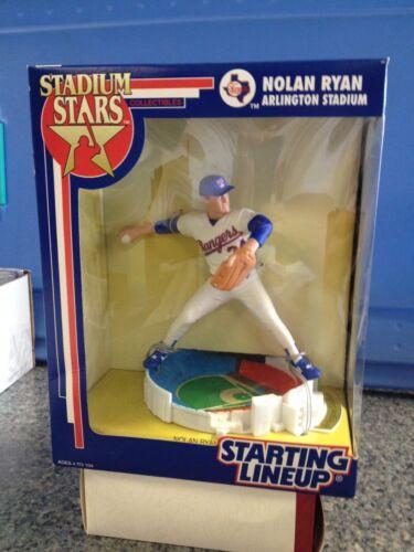 1993 STARTING LINEUP MLB NOLAN RYAN- RANGERS- STADIUM STARS SLU