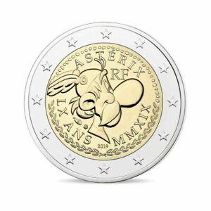 Tris-Monnaie-Carte-Piece-Commemorative-2019-IN-Carte-Asterix-France-Frankreich