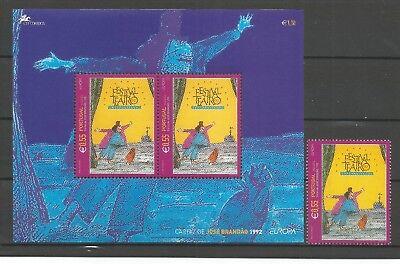 Marke 2003 Postfrisch Europa Madeira Block Cept