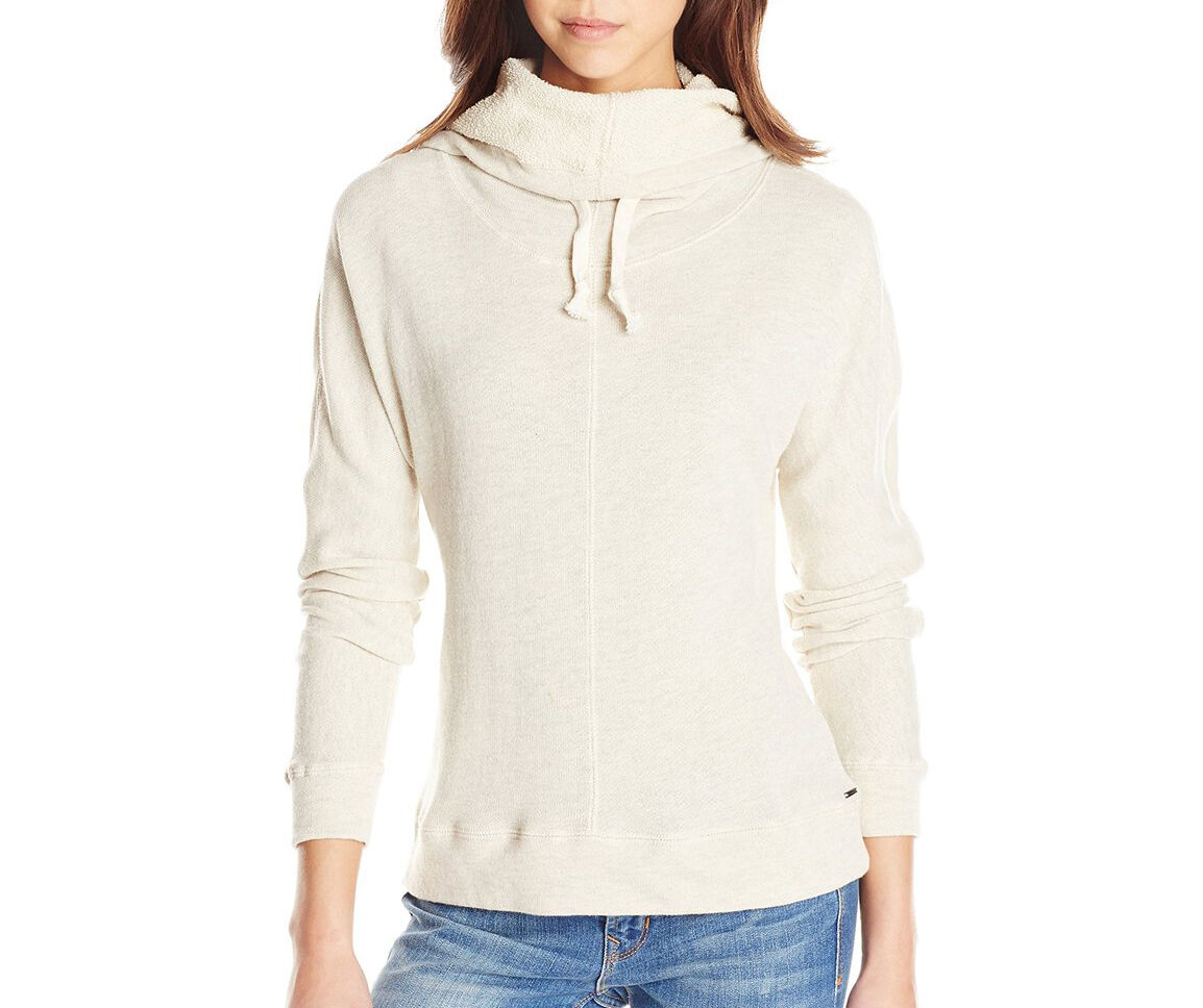 O'Neill 365 Women's Scenic Hooded Pullover Oatmeal Heather Size Large