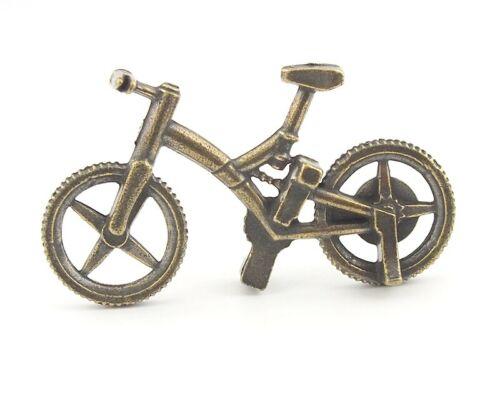Metallfigurchen  TALISMAN Mini  Fahrrad Glücksbringer auch  für  Setzkasten
