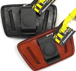 Tagua-Leather-IWB-AIWB-OWB-SOB-Inside-Outside-Pants-Holster-Choose-Gun-amp-Color