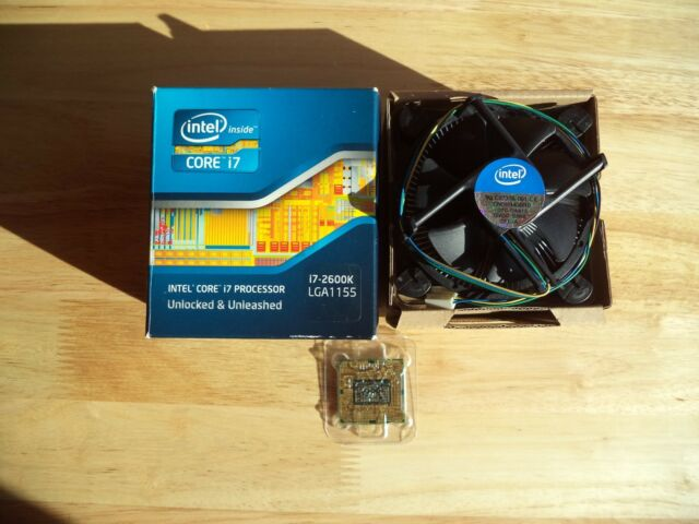 INTEL CORE I7 2600K PROCESSOR, 3.4 GHz, 8MB CACHE, LGA 1155, BX80623I72600K