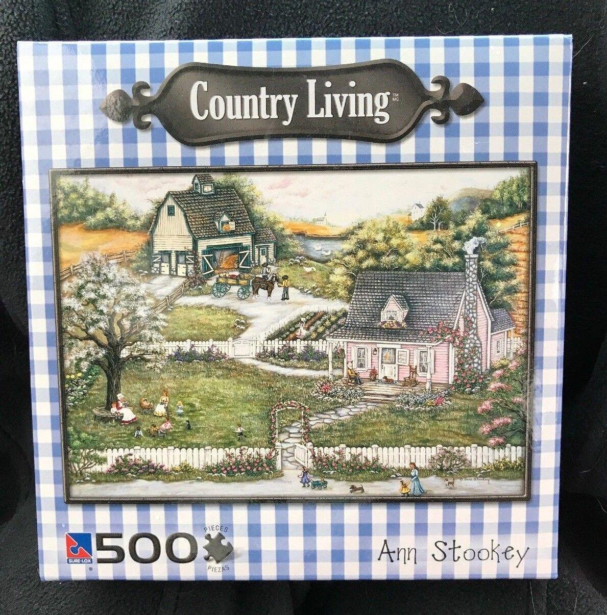 BRAND NEW Country Living Ann Stookey A berättelse På Granma s 500 -pussel