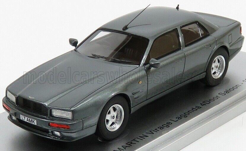 ¡no ser extrañado! Maravilloso KESS-MODELCoche Aston Martin Lagonda Lagonda Lagonda Virage 1993-grismetallic - 1 43  envío gratuito a nivel mundial
