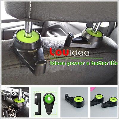 Practical Car Back Seat Headrest Hanger Shopping Bags Purse Grocery Holder Hooks