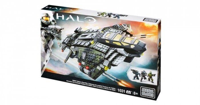Mega Bloks Halo UNSC Vulture Gunship Building Set 1031 Stücke Set New