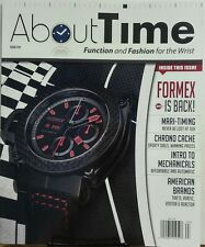 About Time Issue 14 Function & Fashion for the Wrist Formex FREE SHIPPING sb