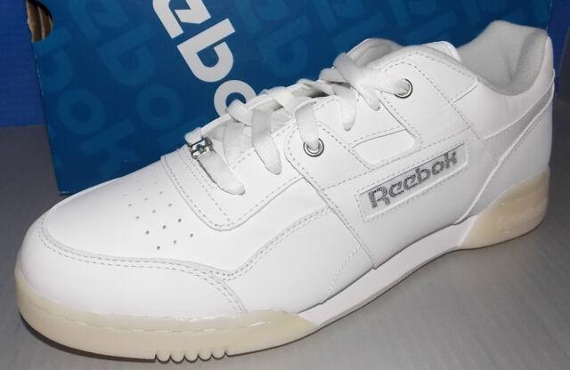 Reebok Workout Plus R12 Mens Athletic Casual Shoes for sale online ... 08022e249