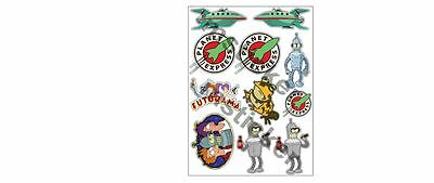 Sticker Decal Sheet Aufkleber Jdm Futurama Tuning Racing Rc