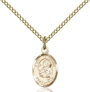 14kt Gold St Raymond Nonnatus Medal
