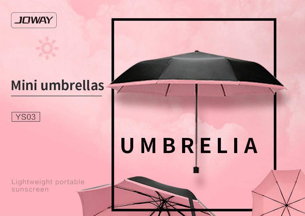 Joway Designer Mini Compact Umbrella Windproof Travel Mens Ladies Light Durable