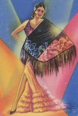 XXL Pink Spanish flamenco Pericón dance fan guajira eventails  ventagli abanico