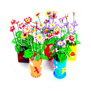 Handmade-EVA-Flower-Pot-Toy-Kids-DIY-Craft-Kits-Creative-Early-Educational-toy