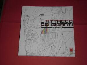 Dettagli Su Lattacco Dei Giganti Coloring Book Tutto Da Colorare Panini Comics Nuovo