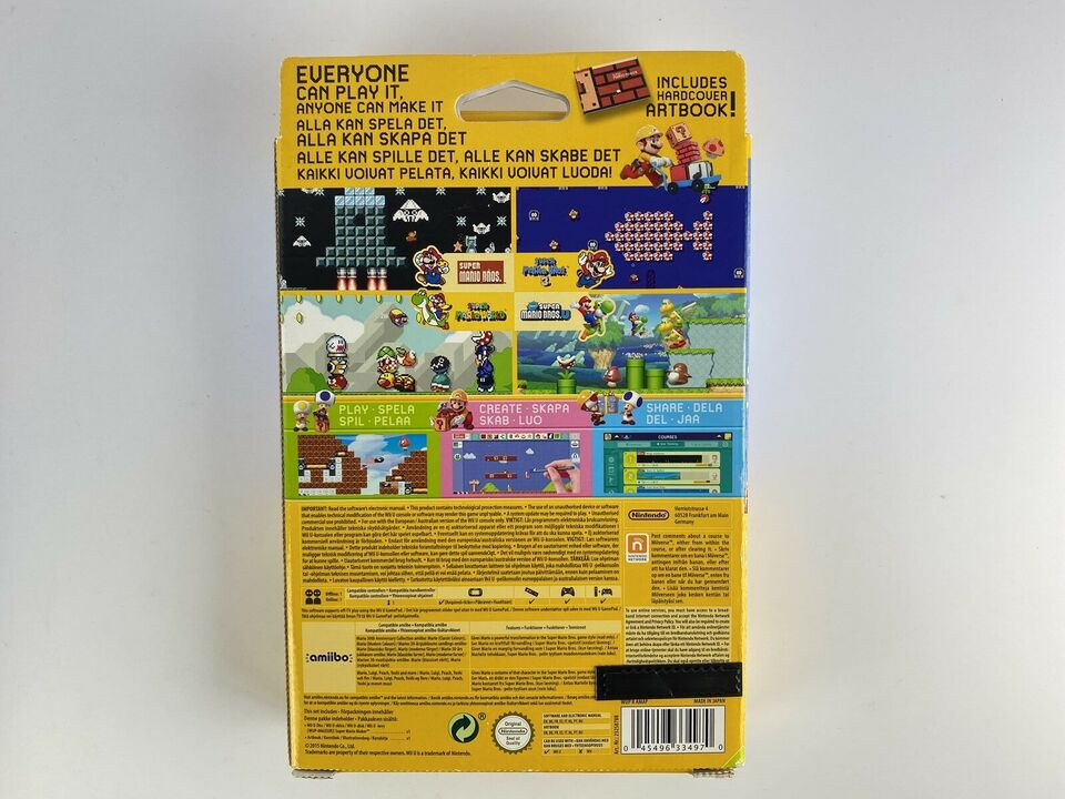 Super Mario Maker Limited Edition (NY), Nintendo Wii U