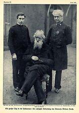 Heilsarmee * General Booth mit Sohn und Enkel 1909 * Historische Memorabile