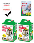 40 Sheets Fujifilm Instax Mini Full Color Instant Film for Fuji mini 8 Camera