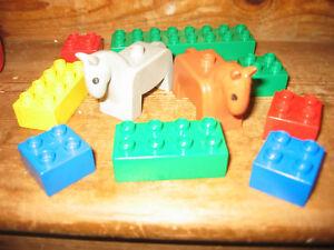 100% De Qualité Duplo Lego Chevaux Poneys équitation écuries Farm Yard Assorted Construction Briques-afficher Le Titre D'origine