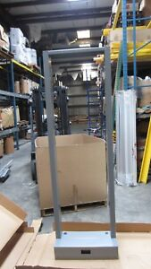 Bailiwick-Structural-System-2Post-Grey-Network-Rack-w-Front-Guard-Box-7-039-x-23-034