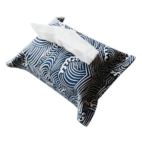 Cotton Linen Tissue Box Cover Napkin Holder N3L6