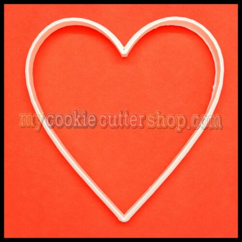 EXTRA LARGE HEART COOKIE CUTTER 9.5cm WIDE x 10cm HIGH