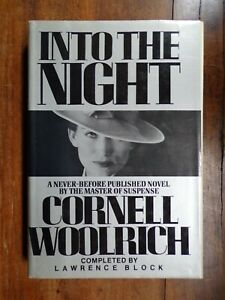 Lawrence-Block-Into-the-Night-Signed-Completed-for-Cornell-Woolrich-1st
