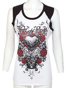 Rebel-Saints-AFFLICTION-Womens-SLEEVELESS-T-Shirt-WILD-LOVER-Biker-Sinful-30