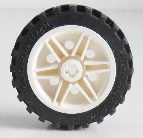 LEGO Technic - Reifen / Tire 43.2 x 14 mit Felge, weiß # 56904c01