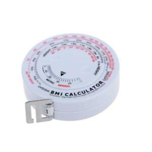 Details about BMI Anatomical Tape Measure Body Mass Index Health Male  Female Fitness Round