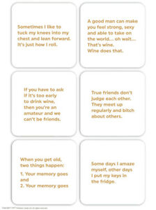Multipack 6 Funny Drinks Mat Coasters Witty Comedy Humour Cheap Present Gift