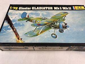 Gloster-Gladiator-MkI-MkII-Heller-1-72-270-Model-kit