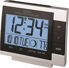 WS-8055U La Crosse Technology Digital Atomic Alarm Clock Moon Phase Refurbished