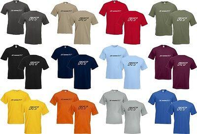 T-Shirt R 1200 RT mit Brust & Rückendruck f. BMW Motorrad Fans