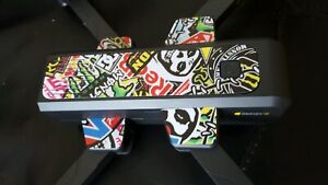 MJX BUGS 4W DECALS SKIN STICKERS WHITE GLOSS SET DRONE PROPS FPV 2K COLOURS CHOO
