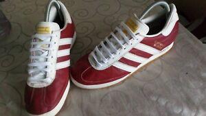 adidas beckenbauer allround, red, size